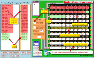 The LMC screen - click to enlarge
