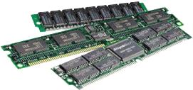 Typical RAM chips