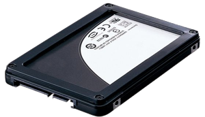A typical solid state drive