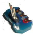 3-pin connector PCB